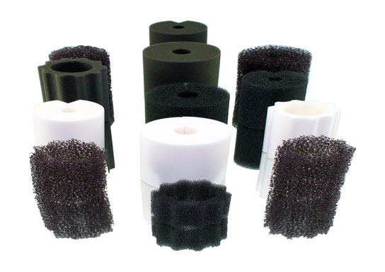 Assorted-Polyester-Filter-Foam