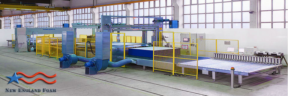 Fecken-Kirfel-Foam-Cutting-Line
