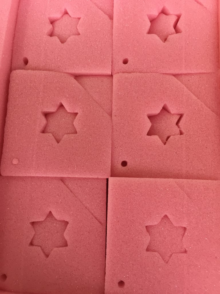 Star Die Cut Out Foam