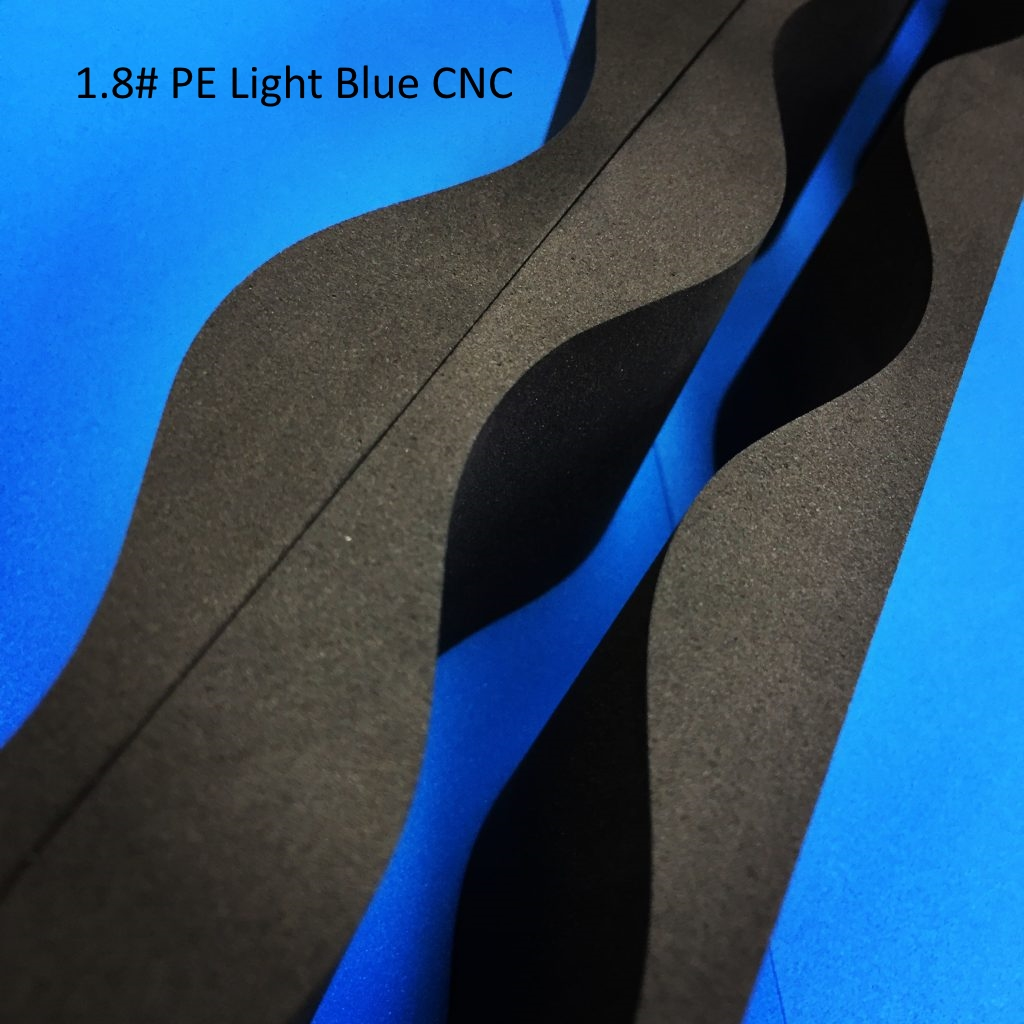 1.8# PE Light Blue CNC